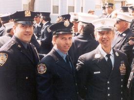 Detective Joseph Vigiano NYPD, Fr. John Vigiano L-132, Captain John Vigiano. Joseph and John Made the Supreme Sacrifice while performing their duties at the World Trade Center September 11, 2001.